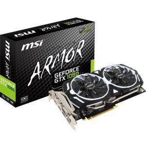 MSI GTX 1060 ARMOR 3G OCV1 - Carte graphique GeForce GTX 1060 Armor 3 Go 3 Go GDDR5 PCIe 3.0 x16