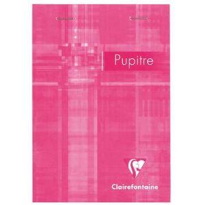 Clairefontaine 6642C - Bloc Metric Pupitre 80 feuilles quadrillé 5x5 (105x148 mm)