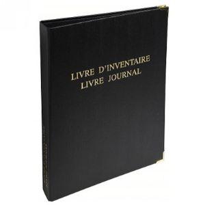 Exacompta Livre d'inventaire avec livre journal (260 x 320 mm)