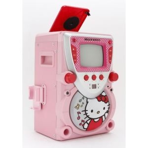 Karaoké Hello Kitty avec microphone