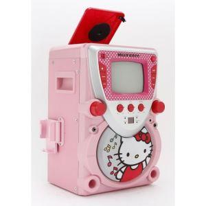 Karaoké Hello Kitty avec microphone