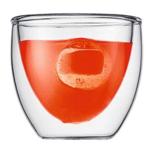 Bodum 6 verres Pavina double paroi en verre (8 cl)