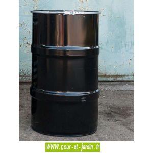 Barrel Q small - Barbecue charbon de bois forme baril en métal 40cm