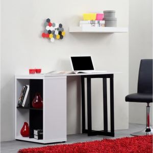 bureau killian 110 cm comparer avec. Black Bedroom Furniture Sets. Home Design Ideas