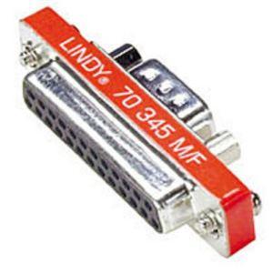 Lindy 70345 - Mini adaptateur Sub-D 9M/25F
