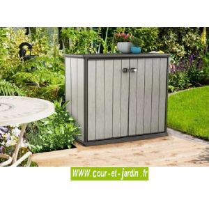 armoire de jardin keter comparer 39 offres. Black Bedroom Furniture Sets. Home Design Ideas