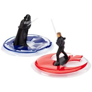 Dekoback 041000166 - Moule gâteaux figurine Star Wars Dark Vador vs Luke Skywalker
