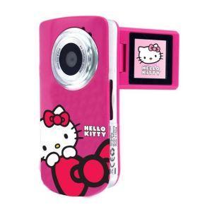 Ingo HEV002N : Caméscope pour enfant Hello Kitty à mémoire mémoire Flash 8 Mo