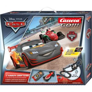 Carrera Toys 62385 - Circuit GO!!! Disney/Pixar Carbon Drifters