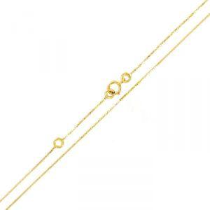 Rêve de diamants CDMC891 - Collier maille vénitienne en or jaune 375/1000