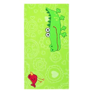 Unamourdetapis Tapis enfant Happy Zoo Crocodile en acrylique (170 x 240 cm)