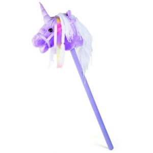 Cheval bâton Licorne violette