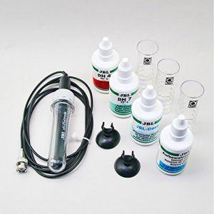 JBL GmbH ProFlora pH-Sensor+Cal Electrode à pH avec Solutions d'Etalonnage pour Aquarium