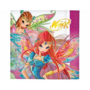 20 serviettes en papier Winx Club (33 x 33 cm)