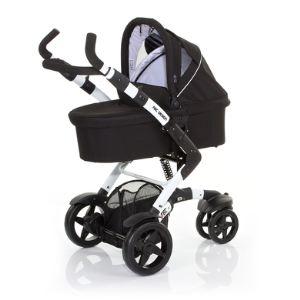 ABC Design 3Tec - Poussette 3 roues combinée avec nacelle