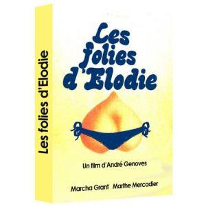 DVD - réservé Les folies d'Elodie