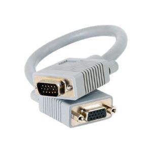 C2g 81099 - Rallonge de câble Premium VGA HD-15 (M)/(F) 5m