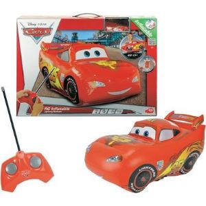 Dickie Toys Voiture radiocommandée Flash McQueen gonflable
