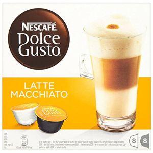 Nescafe 2 x 8 capsules Dolce Gusto Latte Macchiatto