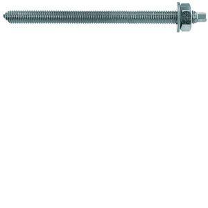 Fischer 50284 - Tige filitée RG M rondelle et écrou acier électrozingué diamètre 12 mm longueur 250 mm