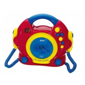 AEG 4229 - Lecteur CD Sing Along CD-Player enfant