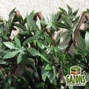 France Green Treillis Feuilles de Vigne extensible 1 x 2 m