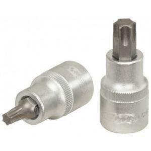 """KS Tools 911.1363 - Douille tournevis 1/2"""" Torx T27 L.55 mm"""