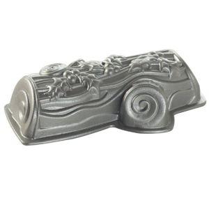 Nordic ware Moule en forme de bûche de Noël en métal