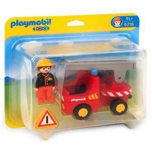 Playmobil 6716 - 1.2.3 : Pompier + camion