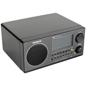 Sangean WR-2 - Poste radio avec fonction horloge et alarme