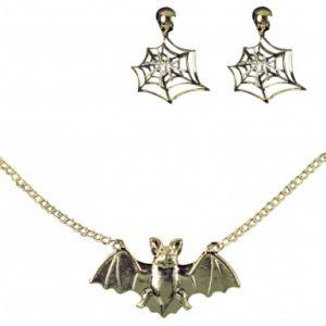 Set bijoux sorcière adulte Halloween