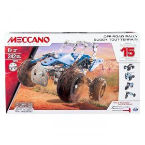 Meccano 6028580 - Buggy 242 pièces 15 modèles