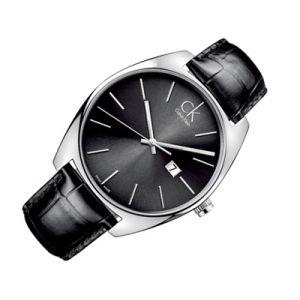 Calvin Klein K2F21107 - Montre pour homme avec bracelet en cuir