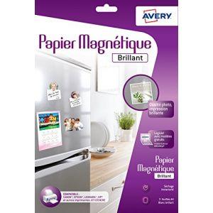 Avery-Zweckform Papier magnétique brillant A4 (3 feuilles)