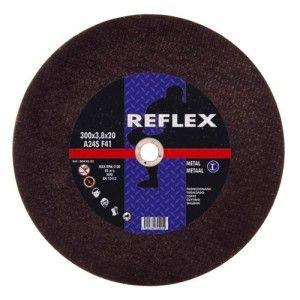 Reflex 303.05.25 - Disque à tronçonner métal diamètre 300 épaisseur 3.8 mm alésage 25.4
