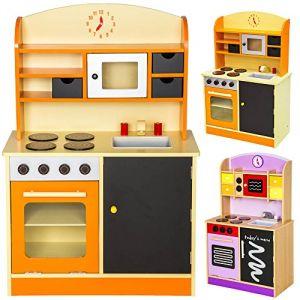 TecTake 800109 - Cuisine en bois pour enfants