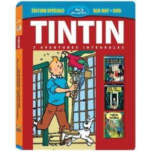Coffret Tintin - Les Bijoux de la Castafiore + Vol 714 pour Sydney + Tintin et les Picaros