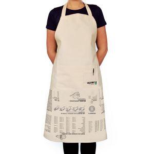 Manta design Tablier de cuisine Instructions en coton