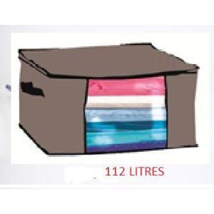 Boîte de rangement sous vide avec sac taille S (112 L)