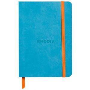 Rhodia 117307C Rhodiarama turquoise - Carnet souple format 10,5 x 14,8 cm, 144 pages ligné