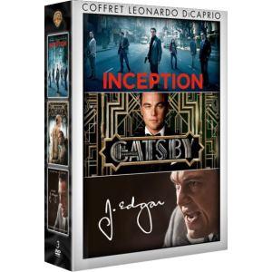 Coffret Leonardo DiCaprio : Inception + Gatsby le Magnifique + J. Edgar
