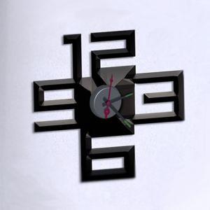 Horloge murale sticker Design Impact