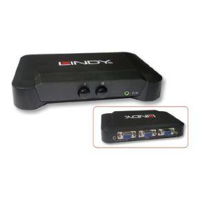 Lindy 32529 - Commutateur VGA et Audio 2 ports