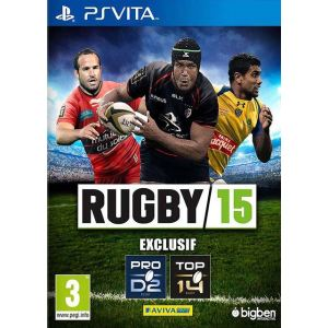Rugby 15 sur PS Vita
