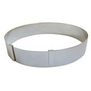 De Buyer 3040.01 - Cercle extensible réglable en inox (18 à 36 cm)