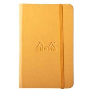 Rhodia 118635C Rhodiarama orange A6 - Webnotebook format 9 x 14 cm 192 pages uni