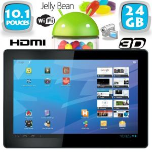 "Yonis Y-tta10.1hdmi24go - Tablette tactile 10"" 3D HDMI sous Android 4.1 Jelly Bean (8 Go interne + Micro SD 16 Go)"