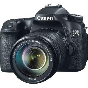 Canon EOS 70D (avec objectif 18-135mm)