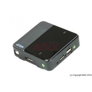 Aten CS782DP - Switch KVM 2 ports DisplayPort 4k/USB/Audio