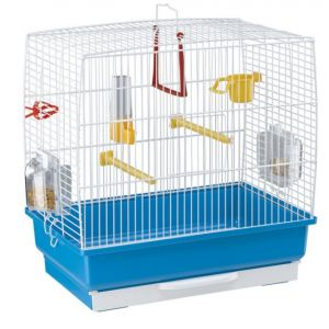Ferplast Rekord 2 - Cage à oiseaux 39 x 25 x h 41 cm